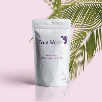 Foot Mask Exfoliation Peeling - Spa för dina fötter